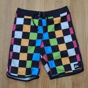 Quiksilver Vintage Board Shorts Multicolor Checker